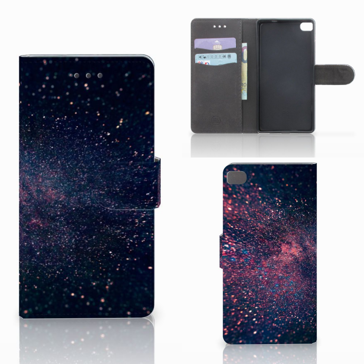 Huawei P8 Bookcase Stars