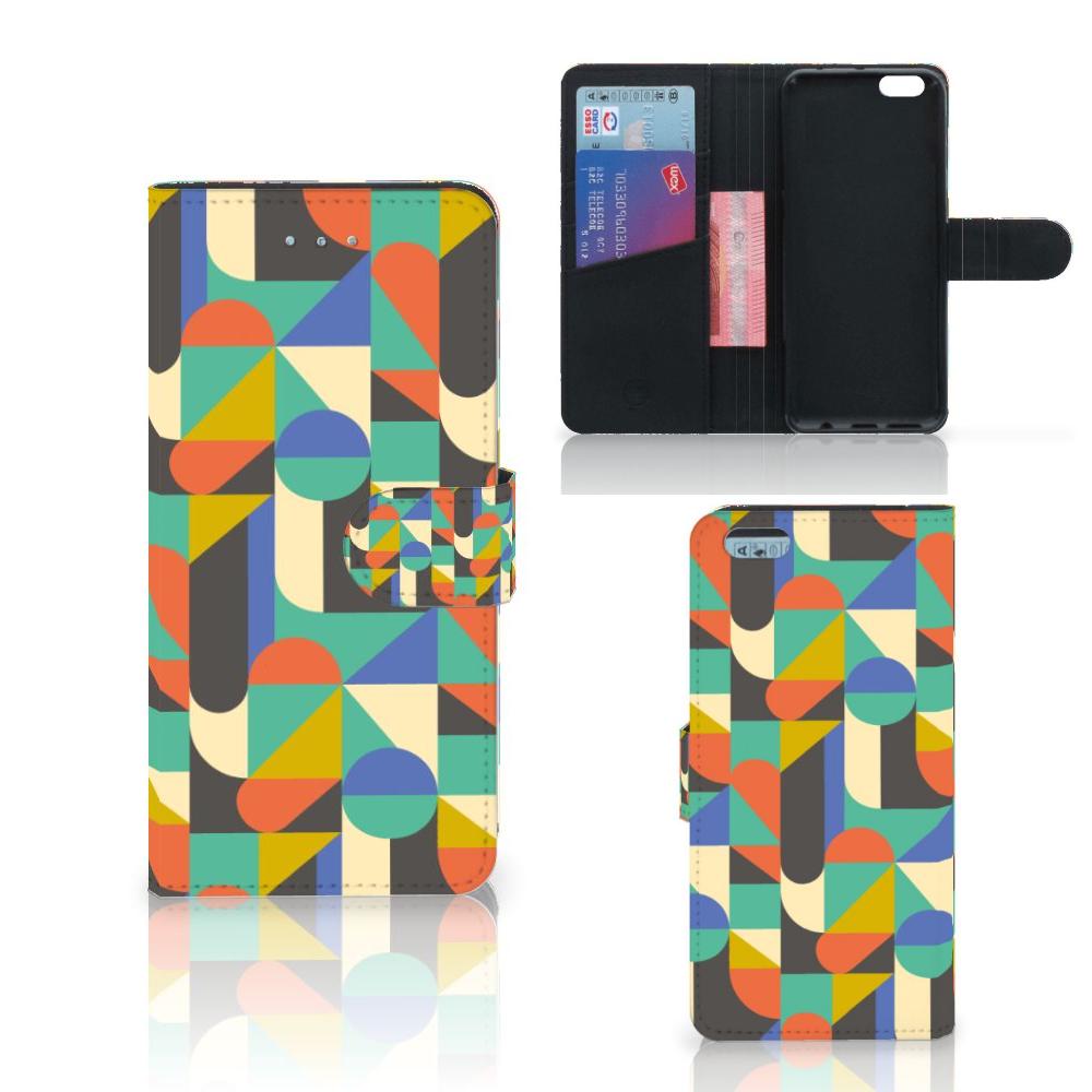 Apple iPhone 6 Plus | 6s Plus Telefoon Hoesje Funky Retro