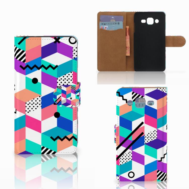 Samsung Galaxy J2 (2015) Bookcase Blokken Kleurrijk