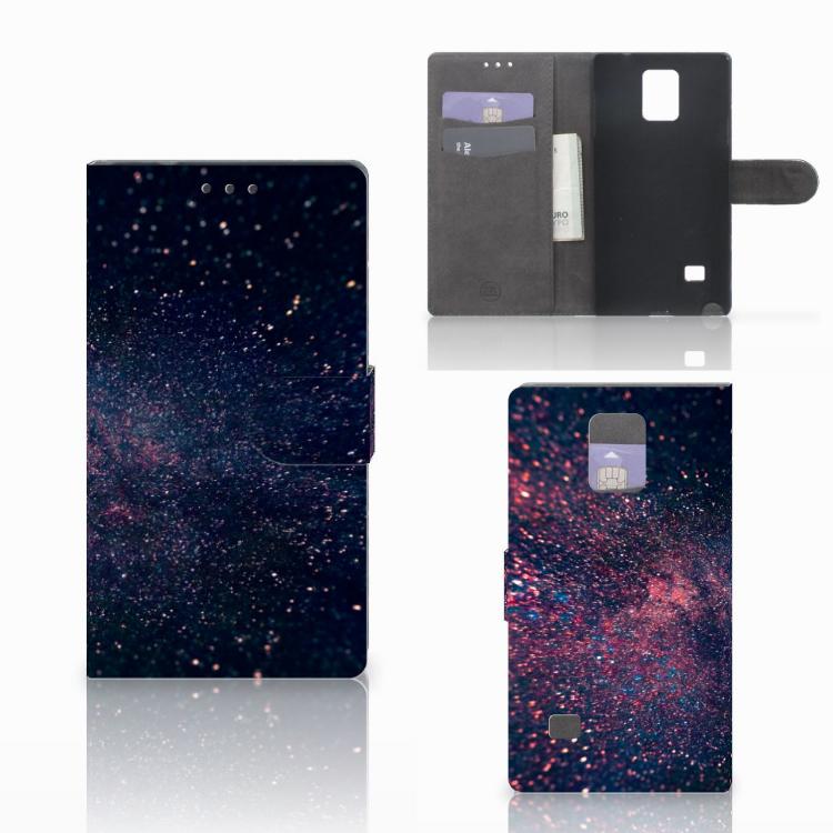 Samsung Galaxy Note 4 Bookcase Stars