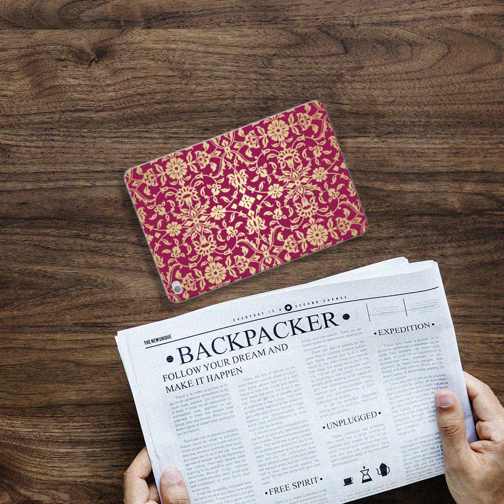 Apple iPad Mini 4   Mini 5 (2019) Tablethoesje Design Barok Pink