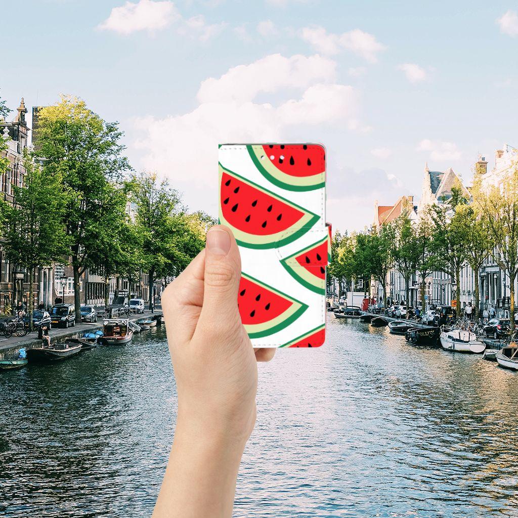 Samsung Galaxy S5 | S5 Neo Uniek Boekhoesje Watermelons