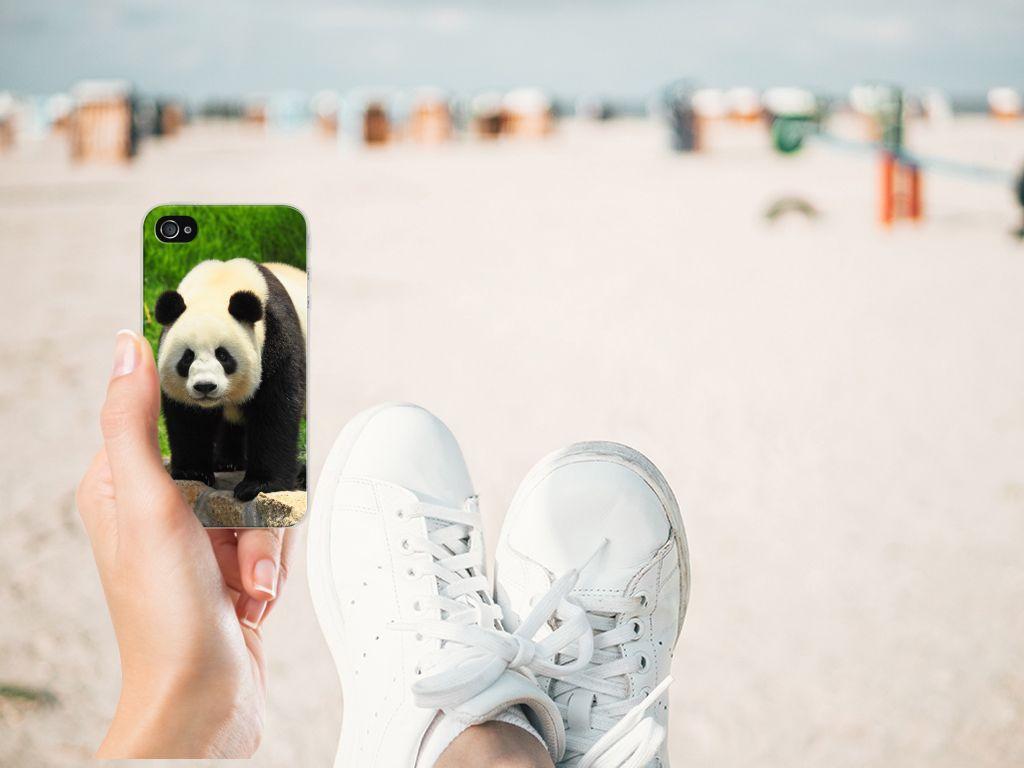 Apple iPhone 4   4s TPU Hoesje Panda