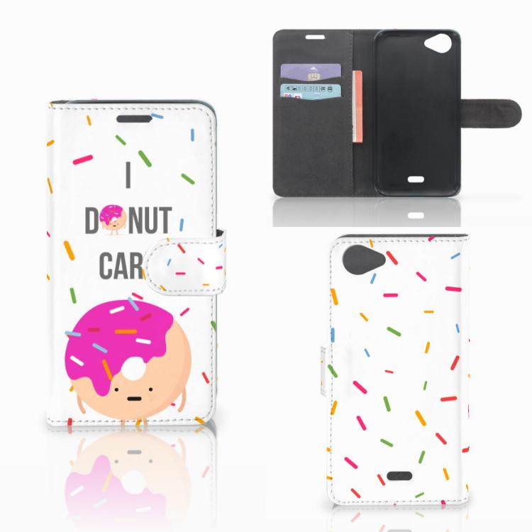 Wiko Rainbow Jam Book Cover Donut Roze