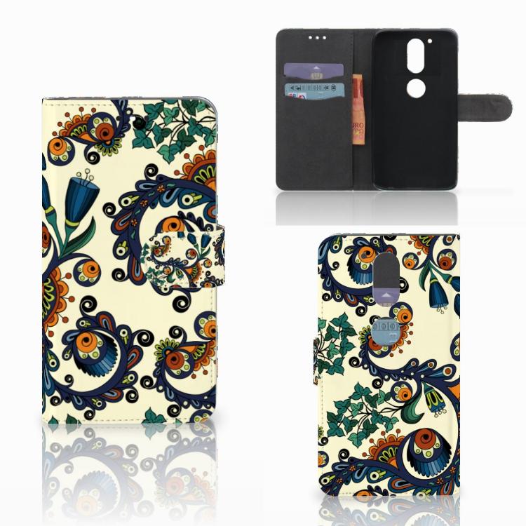 Wallet Case Motorola Moto G4 | G4 Plus Barok Flower