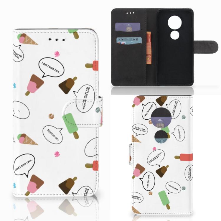 Motorola Moto E5 Play Book Cover IJsjes