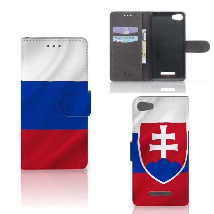 Wiko Lenny 2 Bookstyle Case Slowakije