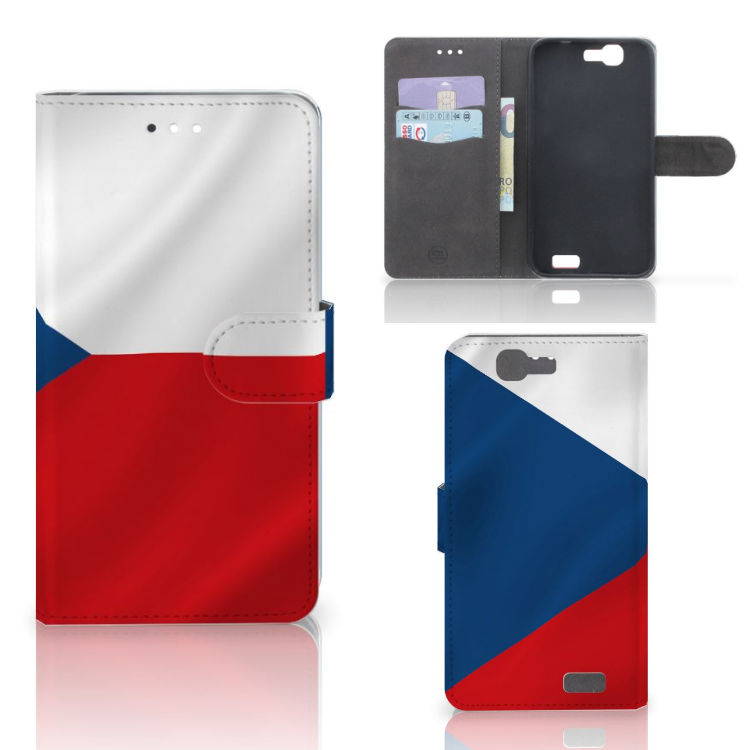 Huawei Ascend G7 Bookstyle Case Tsjechië