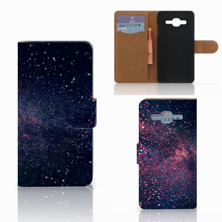 Samsung Galaxy J2 2016 Bookcase Stars