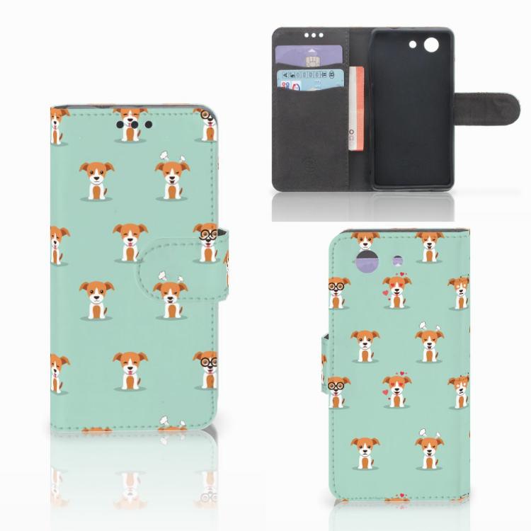 Sony Xperia Z3 Compact Telefoonhoesje met Pasjes Pups