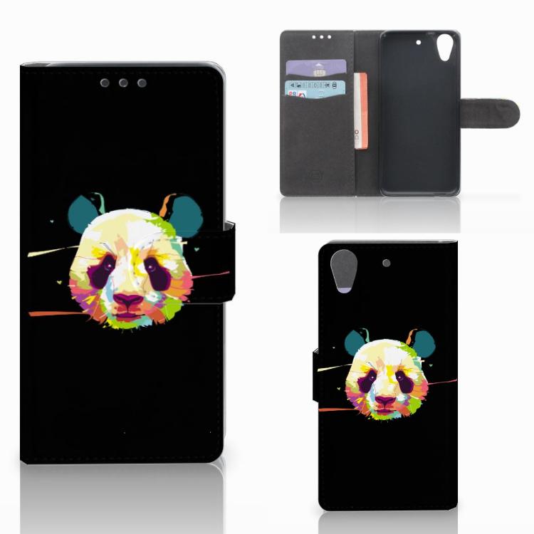 HTC Desire 626 | Desire 626s Leuke Hoesje Panda Color