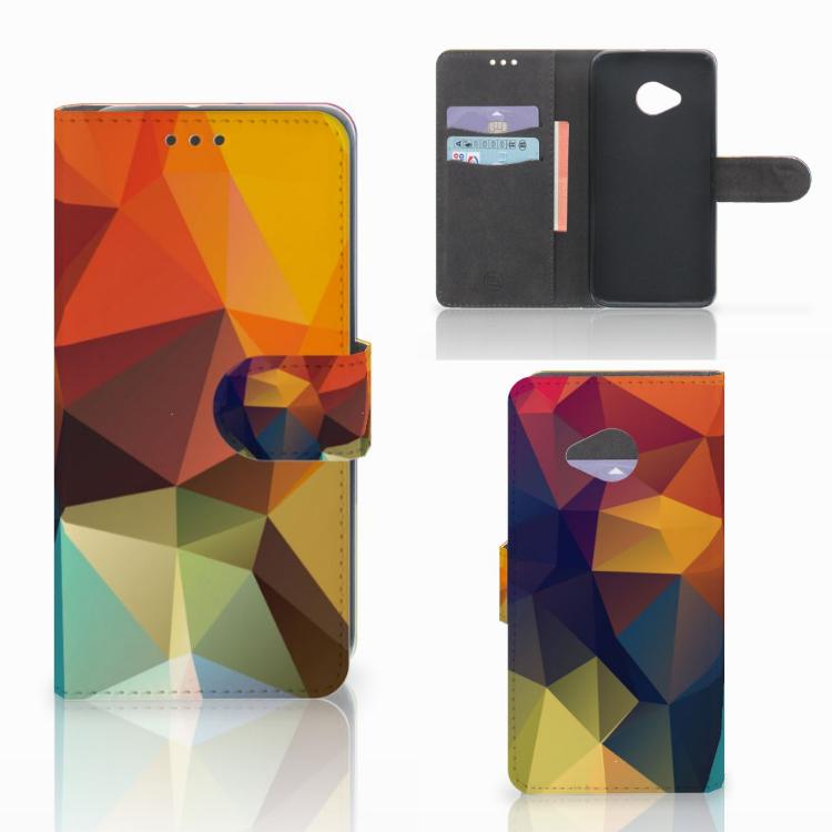 HTC U11 Life Bookcase Polygon Color