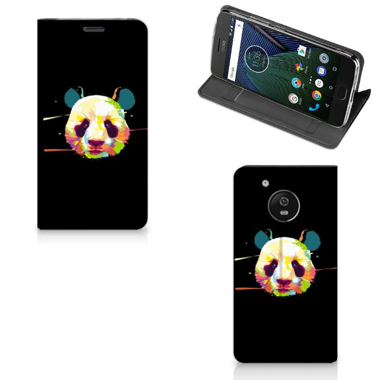 Motorola Moto G5 Magnet Case Panda Color