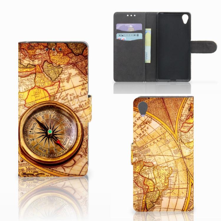 Sony Xperia X Flip Cover Kompas