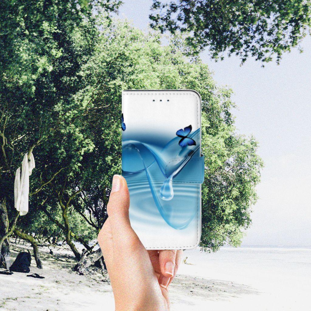 Samsung Galaxy S7 Edge Telefoonhoesje met Pasjes Vlinders