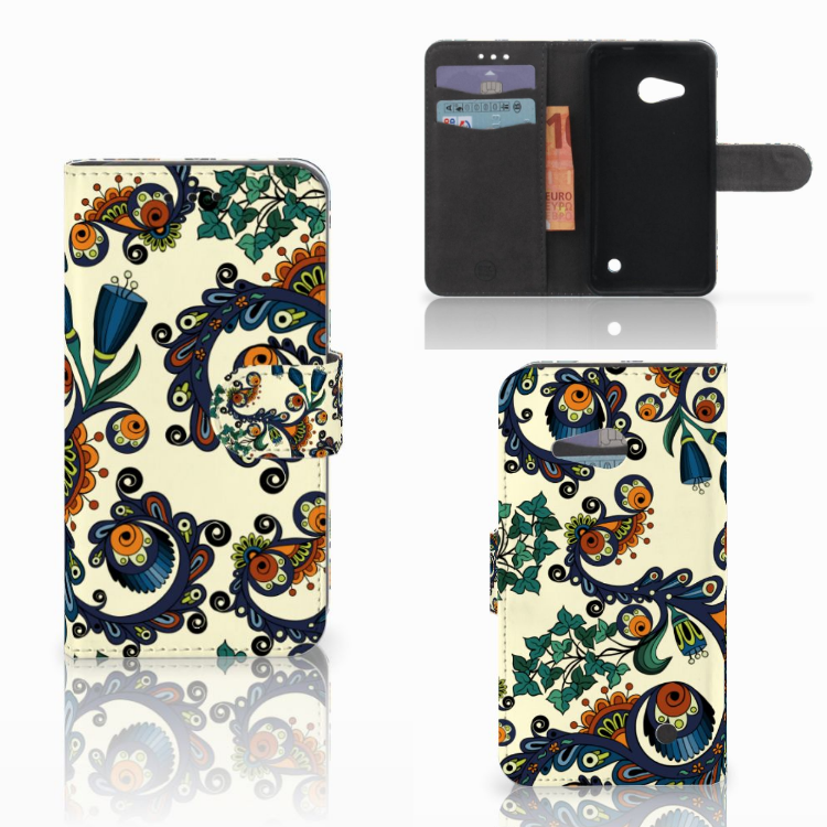 Wallet Case Microsoft Lumia 550 Barok Flower