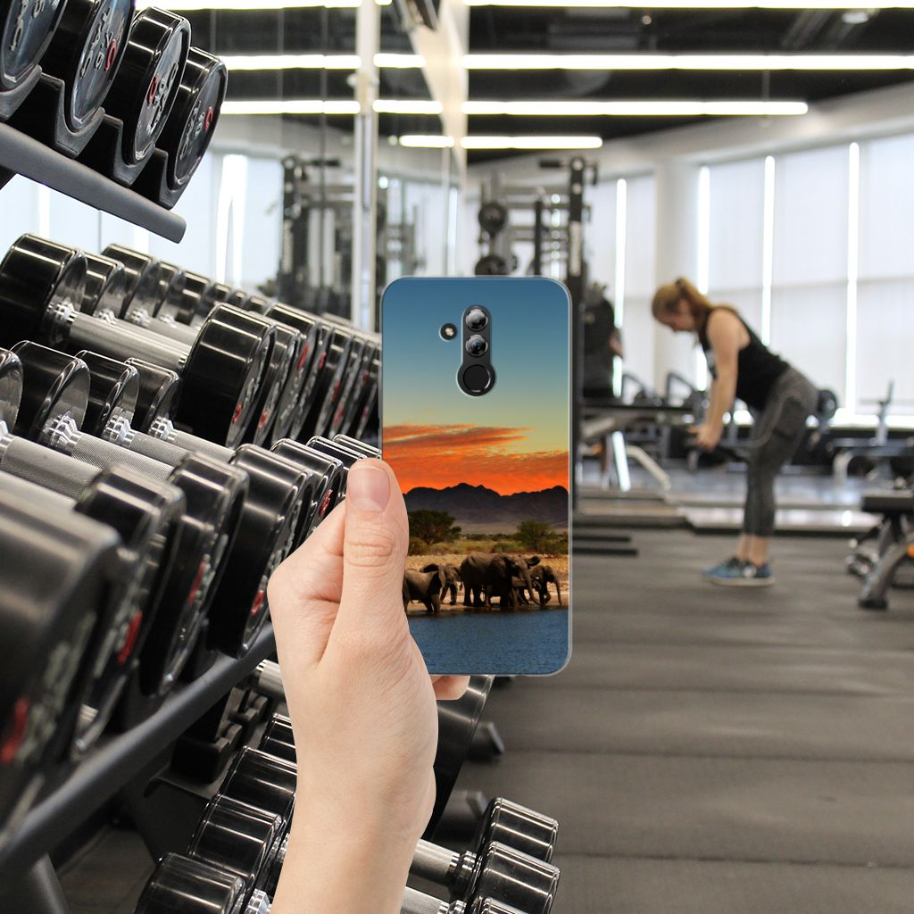 Huawei Mate 20 Lite TPU Hoesje Design Olifanten