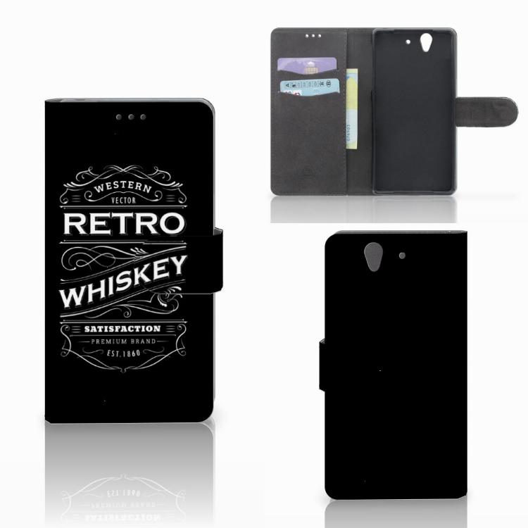 Sony Xperia Z Book Cover Whiskey