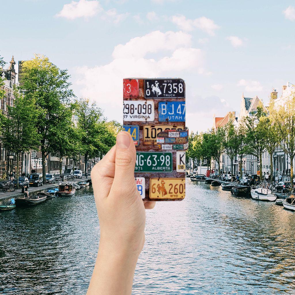 Samsung Galaxy Grand Prime   Grand Prime VE G531F Telefoonhoesje met foto Kentekenplaten
