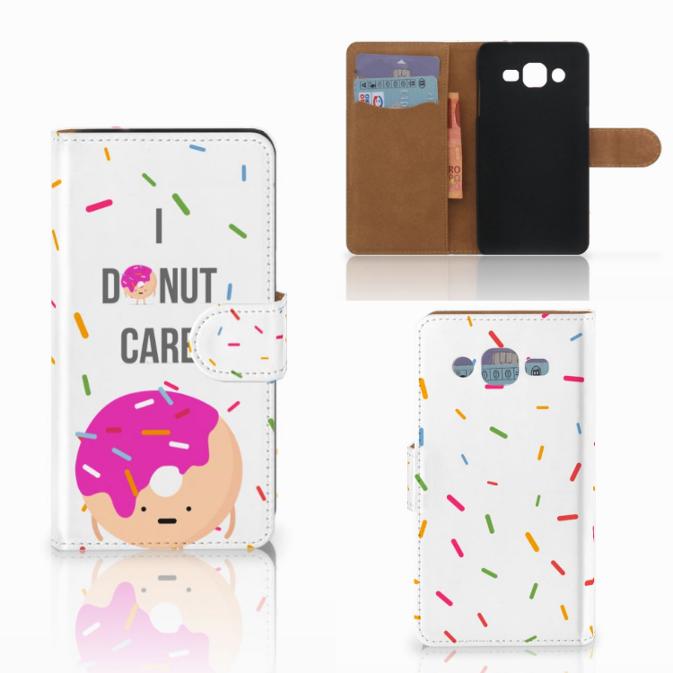 Samsung Galaxy J2 (2015) Book Cover Donut Roze