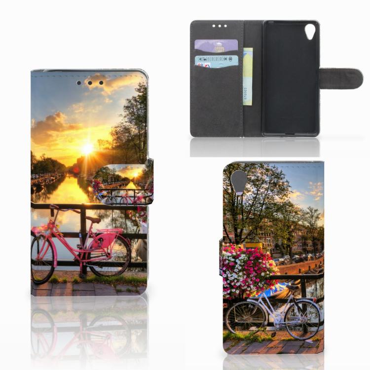 Sony Xperia X Flip Cover Amsterdamse Grachten