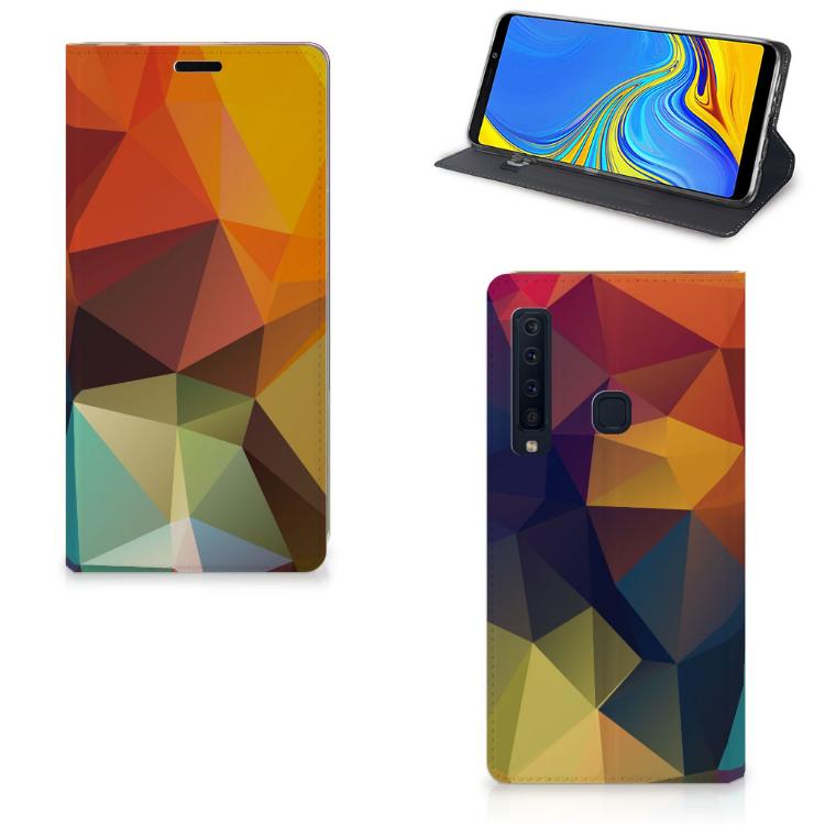 Samsung Galaxy A9 (2018) Stand Case Polygon Color