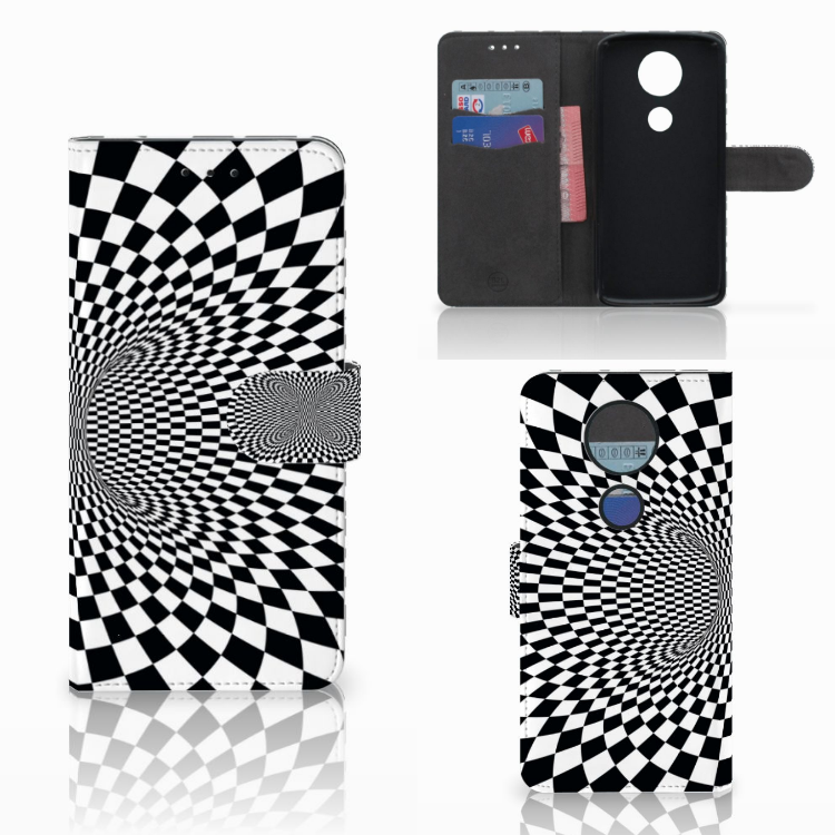 Motorola Moto E5 Plus Bookcase Illusie