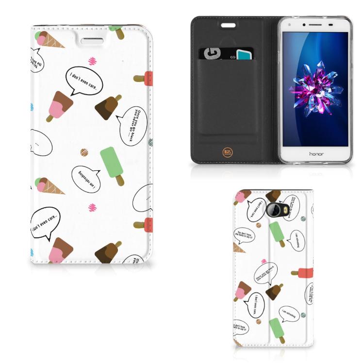 Huawei Y5 2 | Y6 Compact Flip Style Cover IJsjes