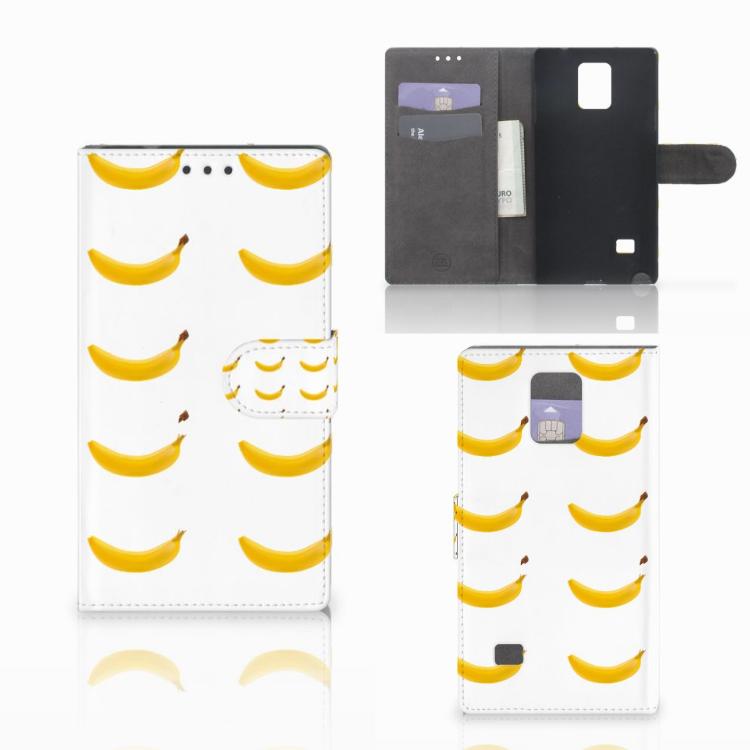 Samsung Galaxy Note 4 Book Cover Banana