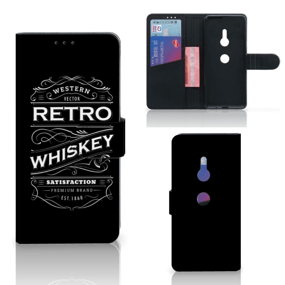 Sony Xperia XZ3 Book Cover Whiskey