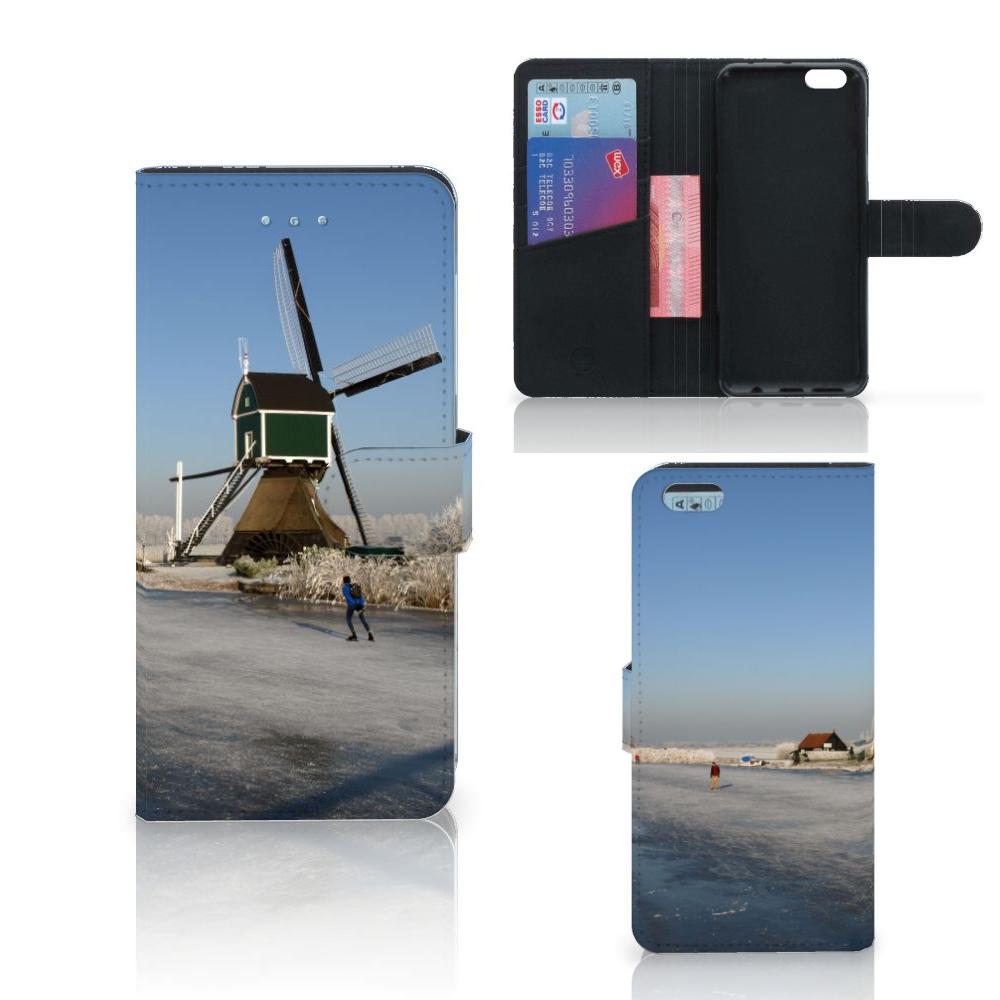 Apple iPhone 6 Plus | 6s Plus Flip Cover Schaatsers