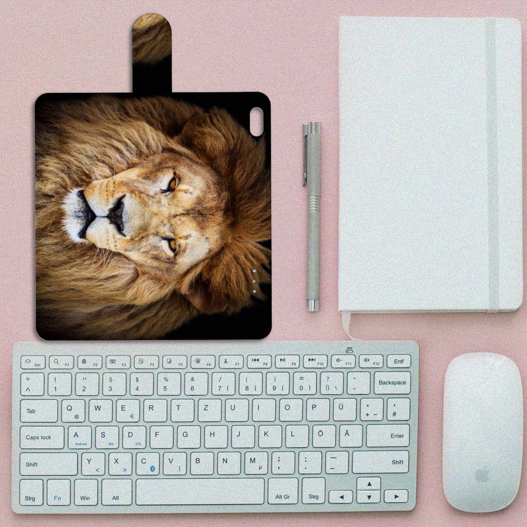 Apple iPhone 6 Plus | 6s Plus Telefoonhoesje met Pasjes Leeuw