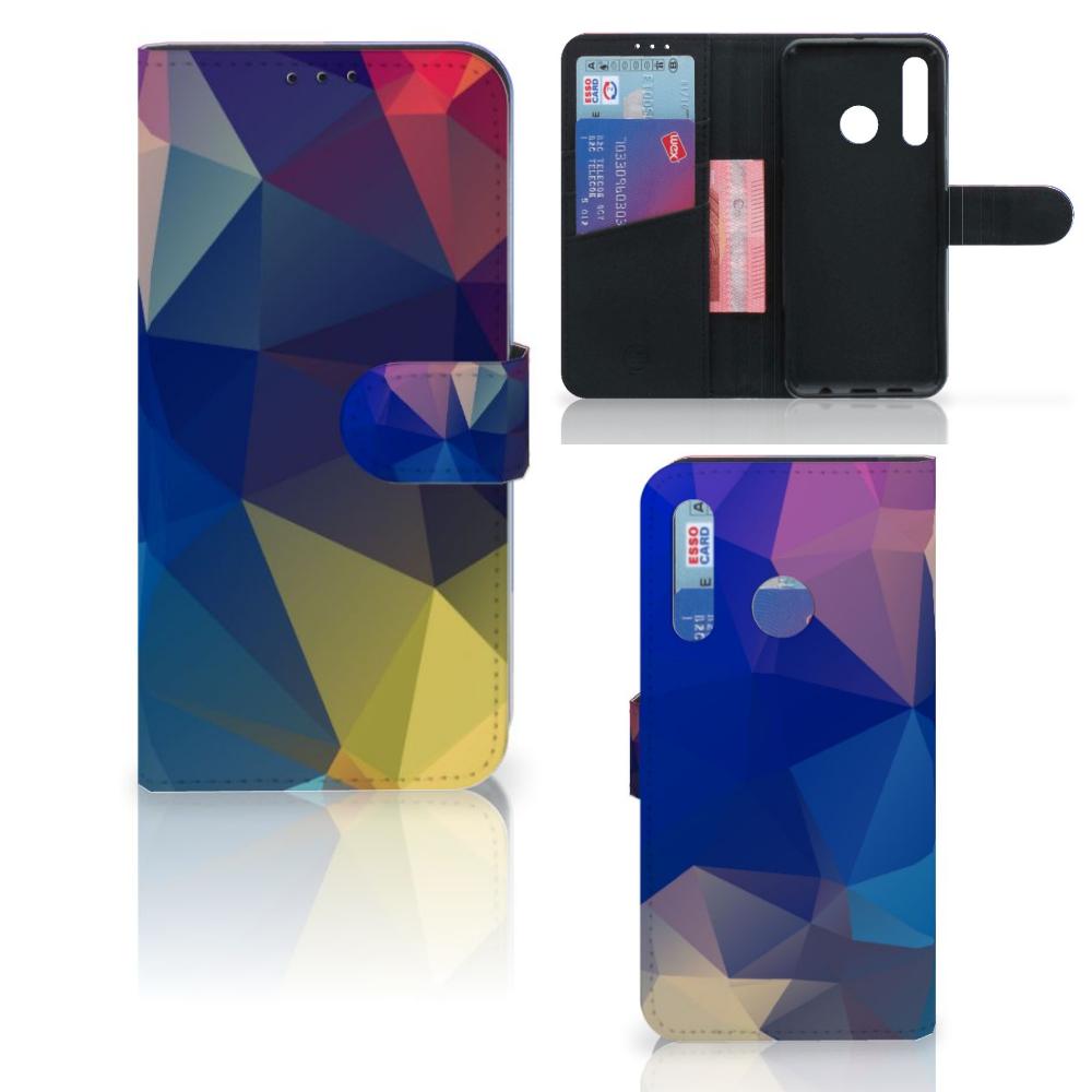 Huawei P Smart 2019 Bookcase Polygon Dark