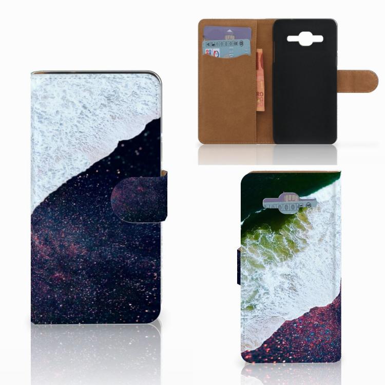Samsung Galaxy J2 2016 Bookcase Sea in Space