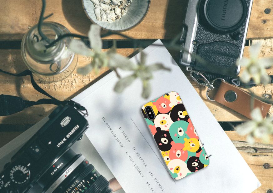 Apple iPhone X | Xs Uniek TPU Hoesje Bears