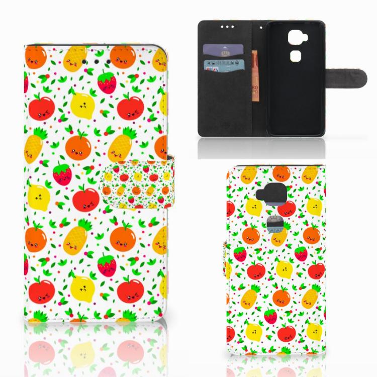 Huawei G8 Book Cover Fruits