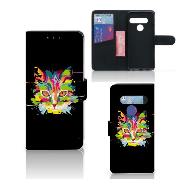 LG G8s Thinq Leuk Hoesje Cat Color