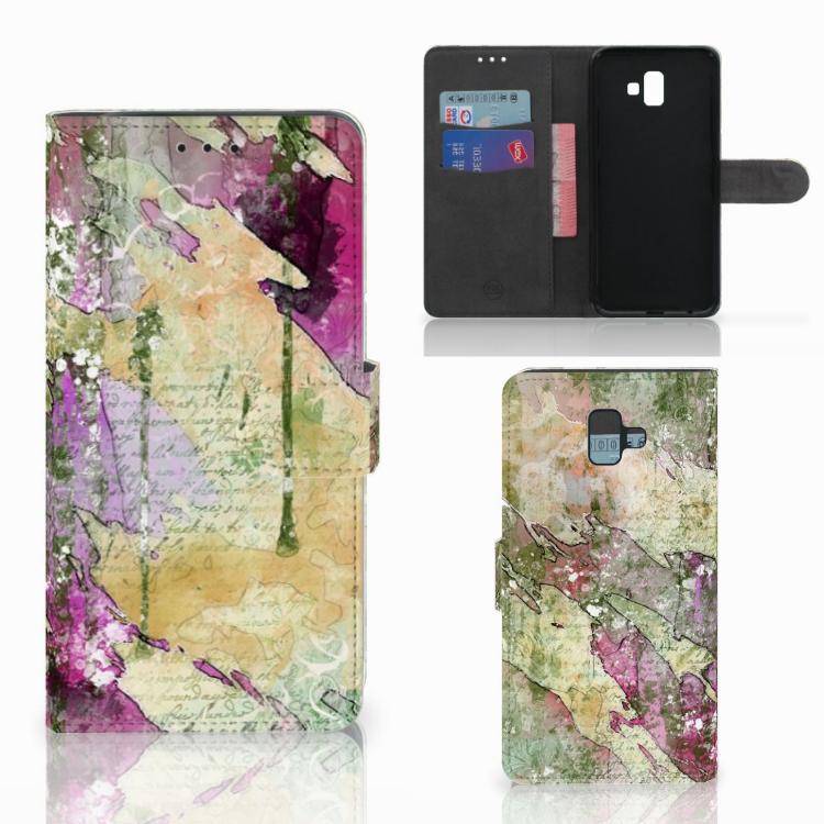 Hoesje Samsung Galaxy J6 Plus (2018) Letter Painting