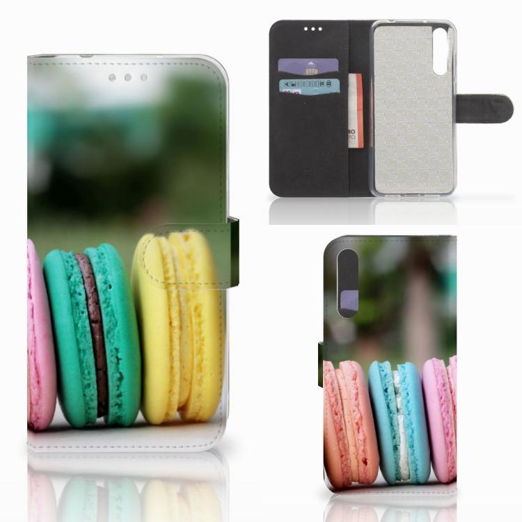 Huawei P20 Pro Book Cover Macarons