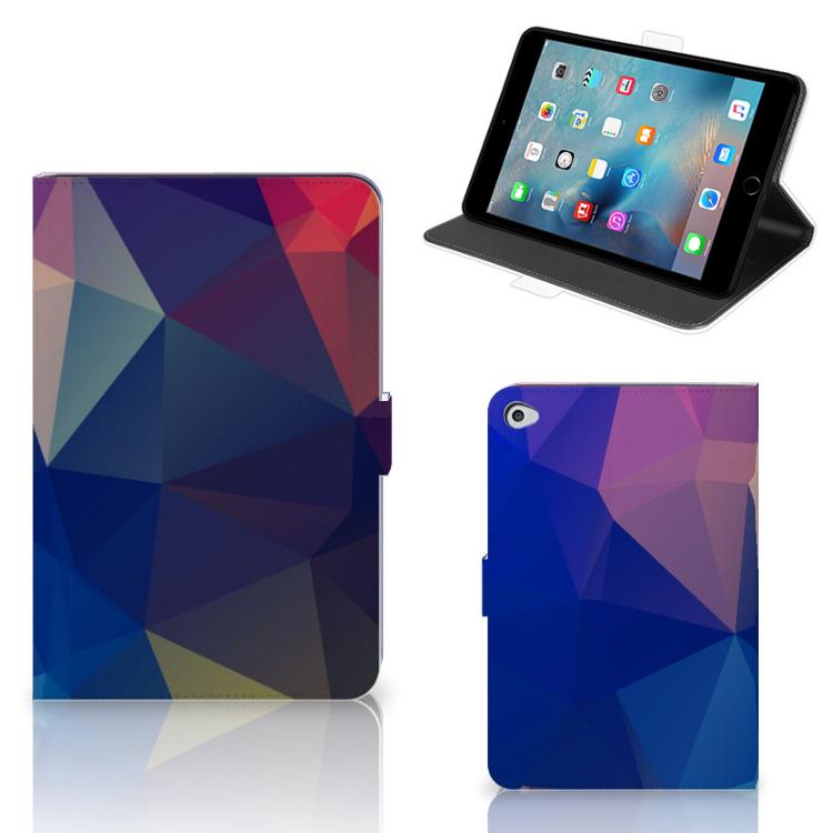 Apple iPad Mini 5 Tablet Beschermhoes Polygon Dark
