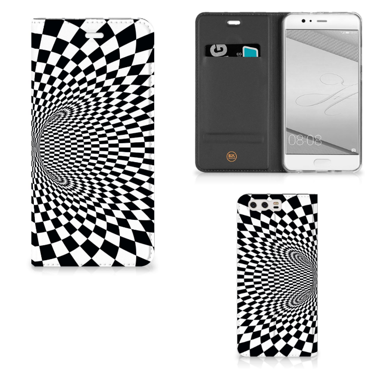 Huawei P10 Plus Stand Case Illusie