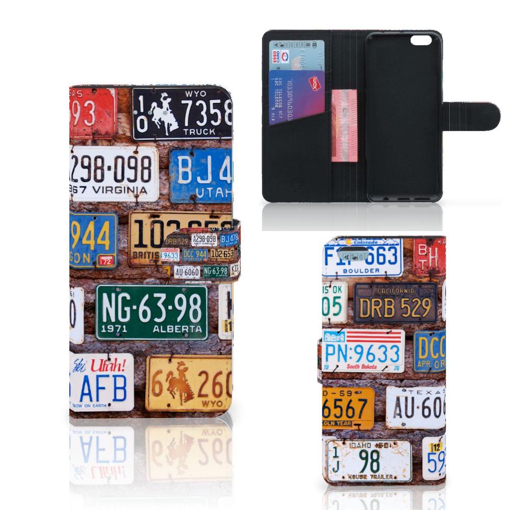 Apple iPhone 6 Plus | 6s Plus Telefoonhoesje met foto Kentekenplaten