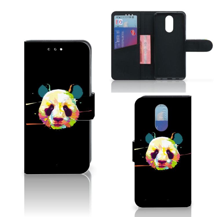 LG Q7 Leuke Hoesje Panda Color