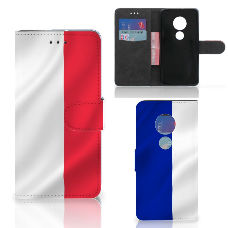 Motorola Moto G7 Play Bookstyle Case Frankrijk