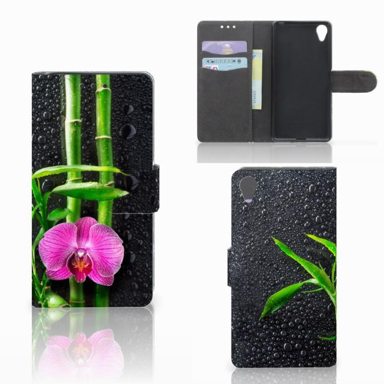 Sony Xperia X Hoesje Orchidee