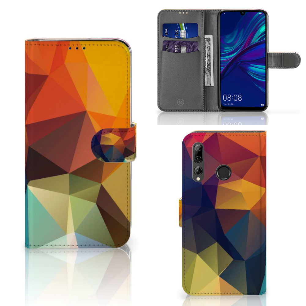 Huawei P Smart 2019 Bookcase Polygon Color