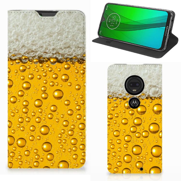 Motorola Moto G7 | G7 Plus Flip Style Cover Bier
