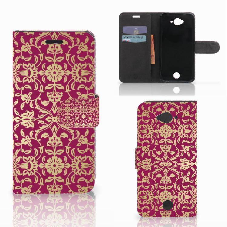 Wallet Case Acer Liquid Z530 | Z530s Barok Pink