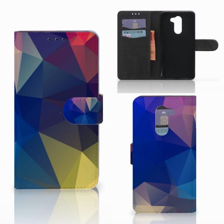 Huawei Honor 6X Bookcase Polygon Dark