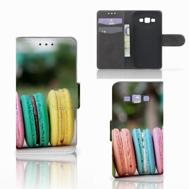 Samsung Galaxy A3 2015 Book Cover Macarons